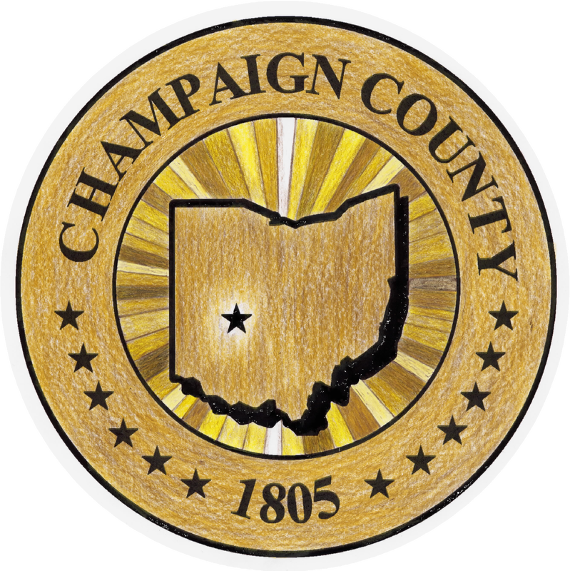 Champaign County Ohio seal logo