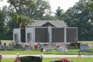 New mausoleum at Oak Dale Cemetery