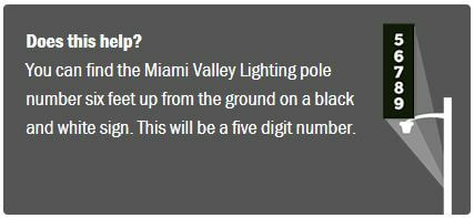 How to Find the Street Light Pole Number